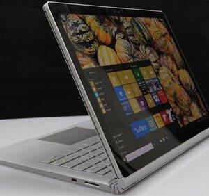 sử dụng Surface Book