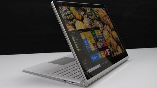 sử dụng Surface Book