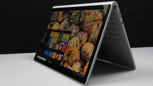 cách dùng Surface Book