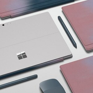 Surface Pro Type Cover Blush Blend-1