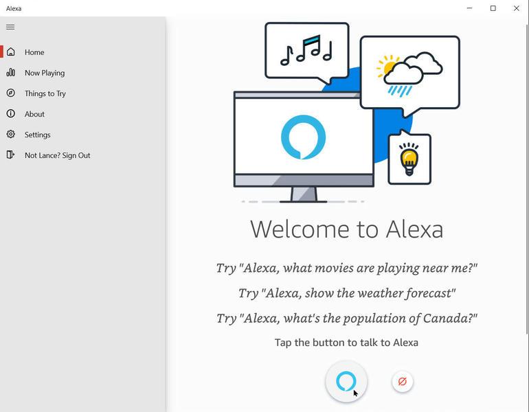 ứng dụng Amazon Alexa trong Windows 10-3