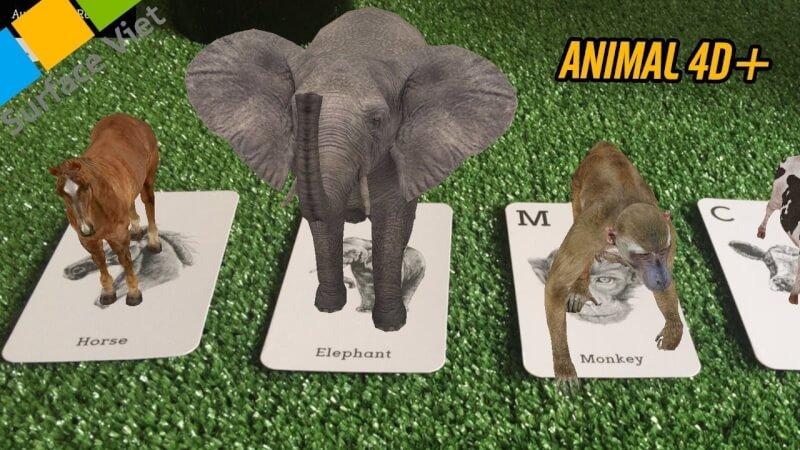 Hướng dẫn cài animal 4D