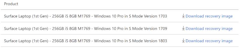 Cách cài đặt lại Windows 10 trên Surface -2