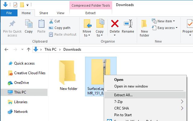 Cách cài đặt lại Windows 10 trên Surface -7