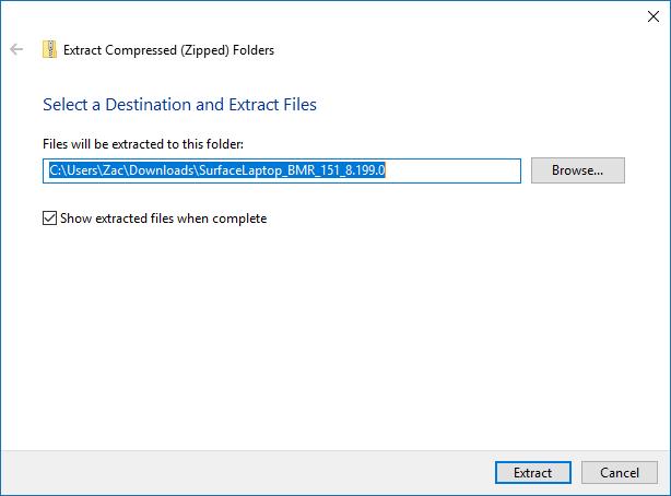 Cách cài đặt lại Windows 10 trên Surface -8