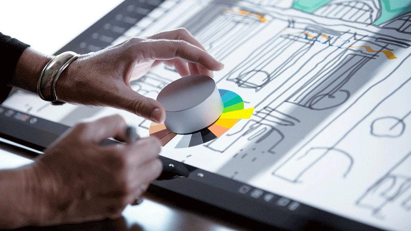 Surface dialSurface dial