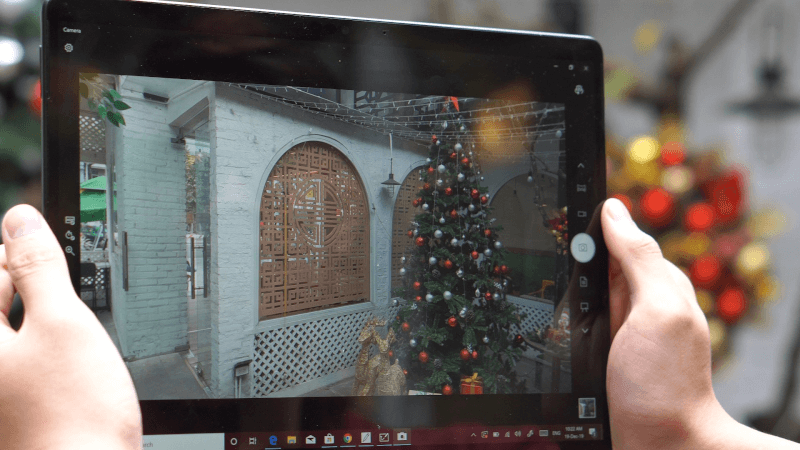 camera Surface Pro X 2020