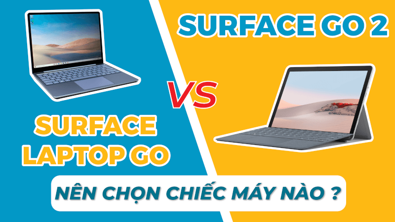surface latop go and surface go 2